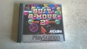 BUST-A-MOVE 2 ARCADE EDITION - PS1 GAME / PS2 PS3 COMPATIBLE ORIGINAL & COMPLETE