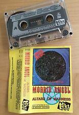 MORBID ANGEL - Altars of Madness MC 1991 RARE 1'ST POLISH PRESS Takt