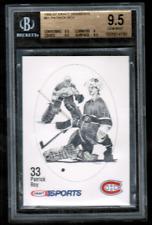 1986-87 Kraft Drawings #61 Patrick Roy Canadiens Rookie BGS 9.5 RARE