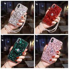 For Nokia 5.4/5.3/8.3/2.3/G10/G20/X10/X20 Bling rhinestones w Holder Case Cover