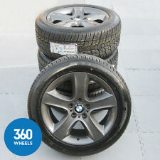 "GENUINE BMW X5 E70 19"" 212 5 SPOKE GREY ALLOY WHEEL NEXEN TYRES 36116772245"
