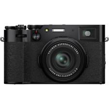 A - Fujifilm X100V Professional Digital Compact Camera - Black