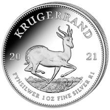 Silber Krügerrand 2021 1 OZ Silver Argent Krugerrand Südafrika South Africa