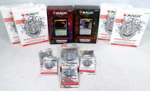 Lot Magic The Gathering MTG Dungeons Dragons D&D Commander Box Booster Rare Foil