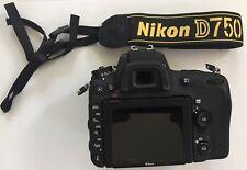 Nikon D750 Digital SLR Camera Body 24.3MP FX- Mint, Original Box, Documents,3935