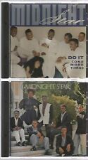 MIDNIGHT STAR do it(one more time) 2 track CD single PROMO + 1987 SELF TITLED