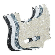 Set of 4PCS 4-String Fender Jazz Bass Pickguards 10 Holes 4Ply Pearloid Color