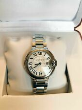 Cartier Ballon Bleu W6920084 Wrist Watch for Women 33mm Quartz w/ box and papers