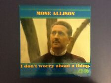MOSE ALLISON~i don't worry about a thing TOP COPY1962 ORIGINAL~MONO1st PRESS Vg+