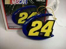 Jeff Gordon #24 Signature Nascar Christmas Ornament