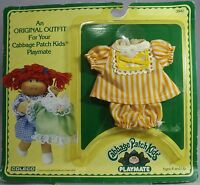 VINTAGE 1980s COLECO CABBAGE PATCH DOLL PLAYMATE DRESS OUTFIT IN ORIGINAL PACKET