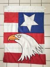 American Eagle Patriotic Yard/Garden Flag Double Sided Nylon 28X40�