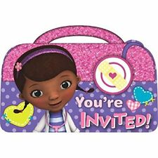 Doc McStuffins Party Invitation Set (8 Piece) - 491352  sc 1 st  eBay & Doc McStuffins Greeting Invitations | eBay