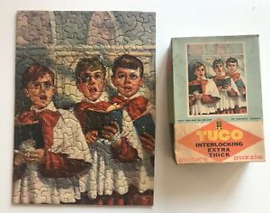 Vintage TUCO Jigsaw Puzzle ALL IS FORGIVEN Painting PETER BIANCHI Choir Boys