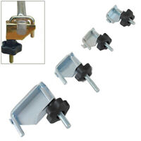 4pcs Fuel Coolant Pipe Line Water Hose Brake Tube Fluid Vacuum Hoses Clamp Set