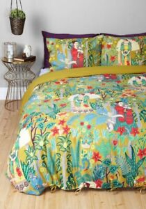 Karma Living Modcloth 100% Cotton Frida Kahlo Full Size Bedding Set