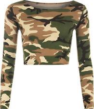Camisas y tops de mujer de manga larga multicolores, Talla 42