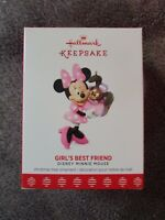 Hallmark Keepsake Ornament, Girl's Best Friend, Disney Minnie Mouse  2017