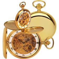ROYAL LONDON Pocket Watch Jewelled Mechanical Skeleton Full Hunter 90016-02