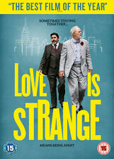 Love Is Strange 2014 John Lithgow Alfred Molina R2 DVD Immediate DISPATCH