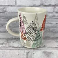 Starbucks 2017 12 OZ Christmas Tree Holiday Ceramic Coffee Tea Mug Cup