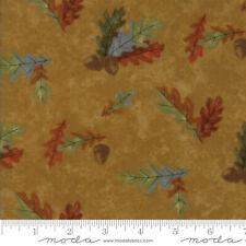 "Moda Fall Impressions Gold Mustard 100% Cotton Flannel Fabric 44"" SBY"