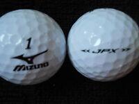 """20  MIZUNO - """"JPX"""" -  Golf Balls  - """"A""""  Grade."""