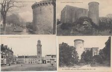 TOWERS TOURS CASTLES CHATEAUX FRANCE 900 CPA (pre-1940)