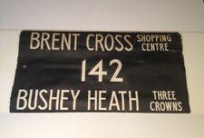 "Routemaster Linen Bus Blind 1083 36""- Brent Cross Shop Centre 142 Bushey Heath"