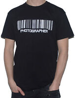 NEW PHOTOGRAPHER - BARCODE Funny T-Shirt! (Photography Camera Top)