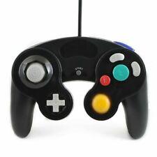 QUMOX Manette Filaire pour Nintendo GameCube et Nintendo Wii - Noire