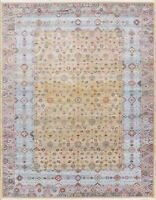 Vintage Style Distressed Design Heat-Set Area Rug All-Over Oriental Carpet