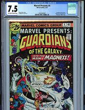 Marvel Presents Guardians of the Galaxy #4 CGC 7.5 1st Nikki Gold 1976 k1
