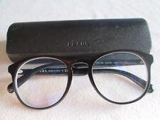 Prada black glasses frames. VPR 19S. With case.