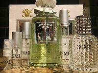 Creed Virgin Island Water EDP Cologne 2ml 5ml 10ml 15ml 30ml samples bottles
