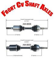 Jeep Liberty 2002-2006 3.7L Front Left & Right CV Shaft Axles Brand New