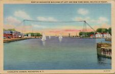 VTG 1944 Naval Militia Charlotte Harbor Port Rochester New York Postcard