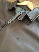 Men's Ralph Lauren 100% Lambskin Leather Jacket