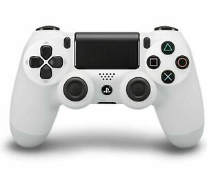Official Sony PS4 Dualshock 4 Wireless Controller White CUH-ZCT2U Play Station 4