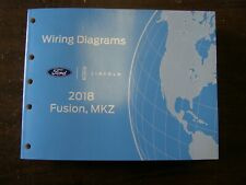 OEM Ford 2018 Fusion Shop Manual Wiring Diagram Book nos + Lincoln MKZ