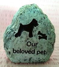 Dog Puppy Pet Memorial Inspiration Funeral Garden Decorative Ornament Plaque