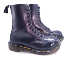 Dr. Martens Doc England Rare Vintage Black 1919 Steel Toe Boots UK 5 US 7