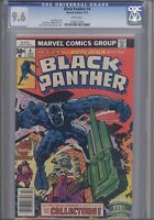 "Black Panther 4  CGC 9.6 1977 Jack Kirby Marvel  Comic: ""The Collectors"""