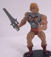 Vintage 1983 Masters of the Universe Figure MOTU Battle Damage He-Man Soft Head