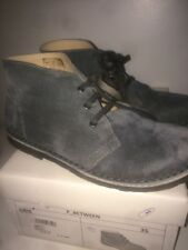 Boots Cuir Gris Pointure 35 DPAM NEUF !