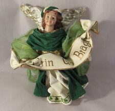 "Angel Figurine Erin go Bragh Clothique Possible Dreams 6.5"""