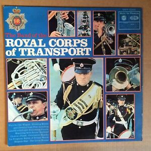 The Band Of The Royal Corps Of Transport 1969 UK Vinyl LP Excellent MARCHING