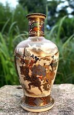 eccezionalmente bella Asta della ringhiera Vaso Giappone dipinti a mano circa 00