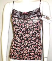 """NEW LADIES CAMISOLE MARKS & SPENCER LINGERIE """"THE LUXURY VEST"""" BLUSH PINK FLORAL"""