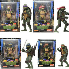 """TMNT 1990 7"""" Action Figure Teenage Mutant Ninja Turtles neca Kids Gift Toys"""